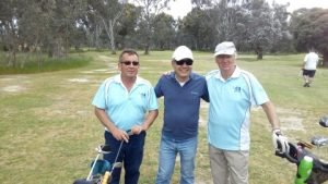 Bill Dredge, Martin Lowe & Ray Partridge on Wednesday